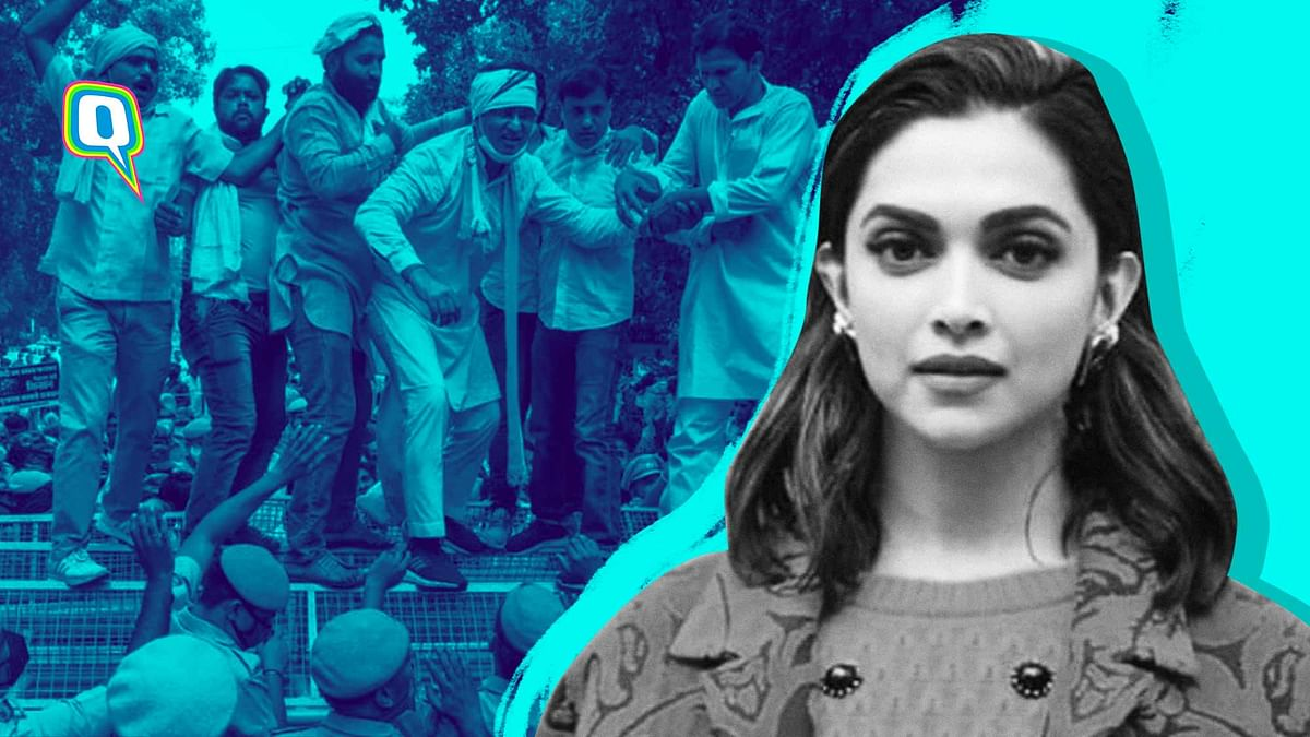 Deepika Padukone or Farmers' Protests: What Will Media Cover?