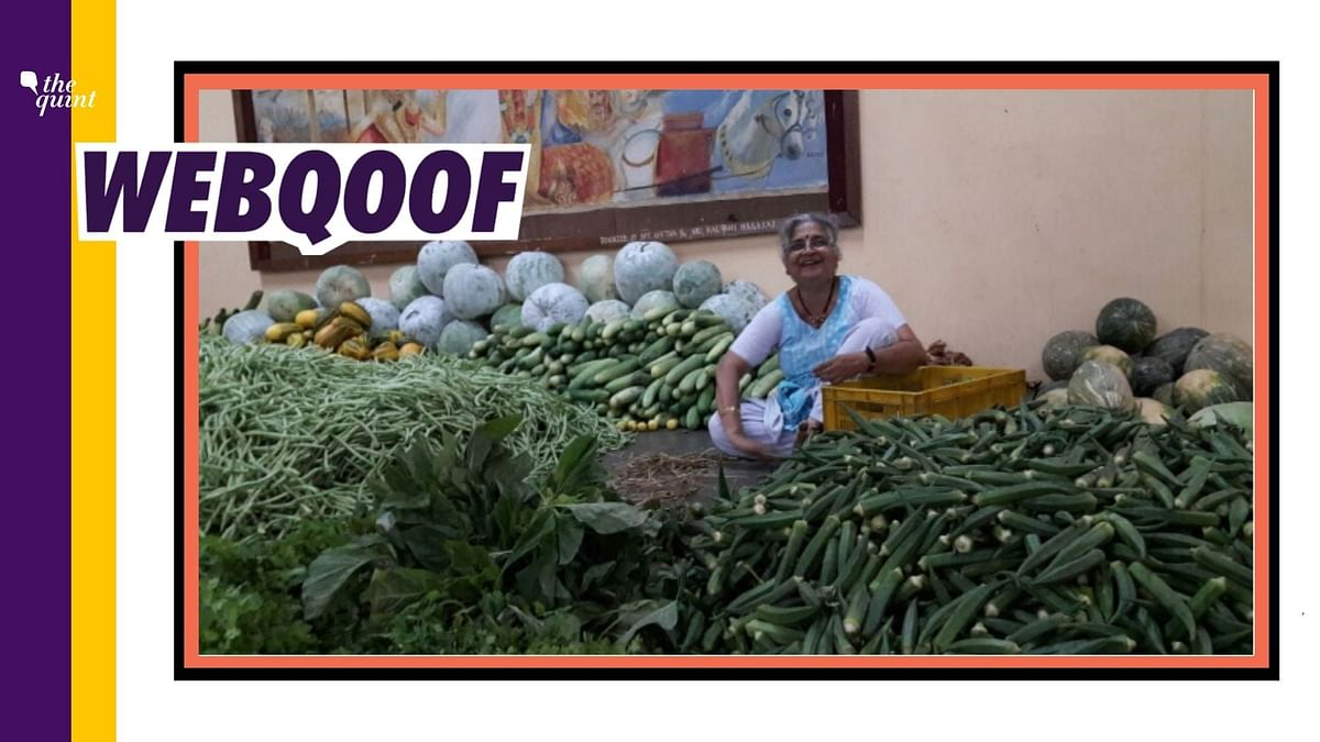 That's Sudha Murty But She Isn't Selling Vegetables Near a Temple