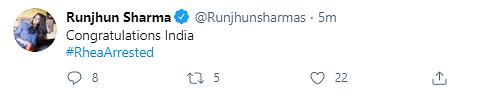 Netizens React to Rhea Chakraborty's Arrest by NCB In Sushant Case