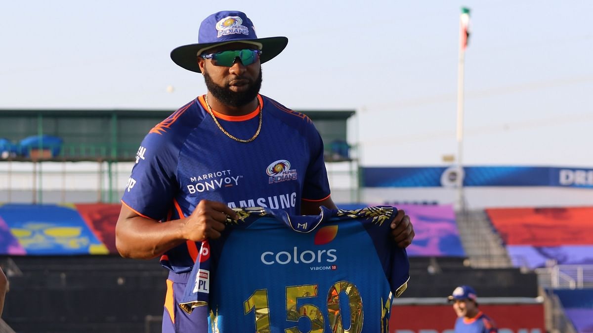 In 11th Straight Season for Mumbai, Pollard Plays 150th IPL Game