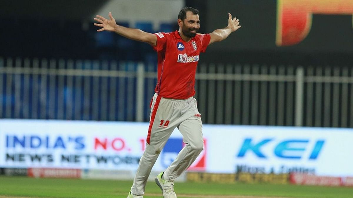Mohammad Shami played a key role for Punjab Kings in IPL 2020.