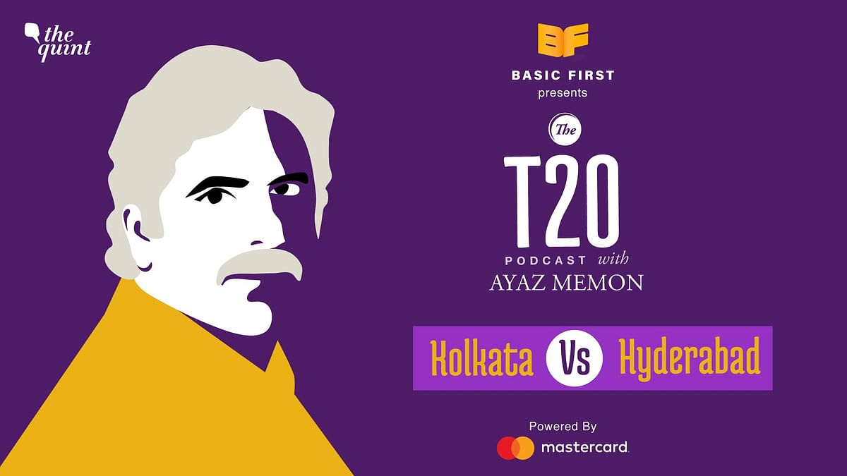 On episode 8 of The T20 Podcast, Ayaz Memon and I discuss Kolkata's comfortable victory over Hyderabad in Abu Dhabi on Saturday night.
