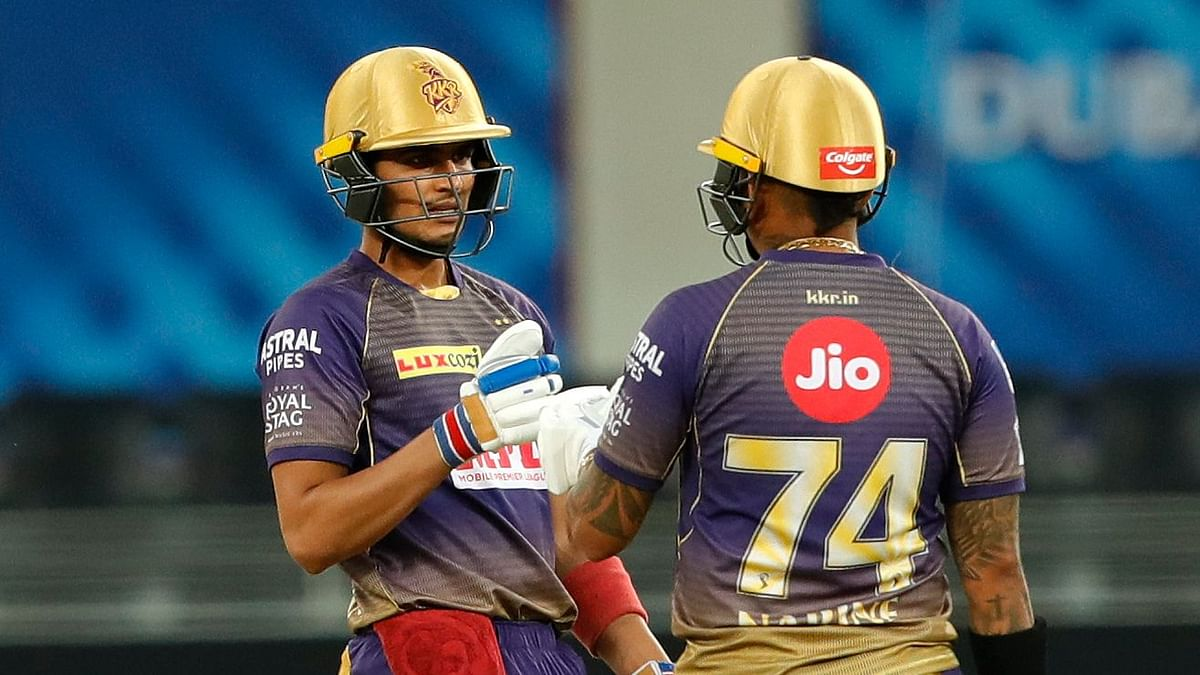 Young opener Shubman Gill was the only batsman to put up a decent score as Kolkata Knight Riders posted 174/6.