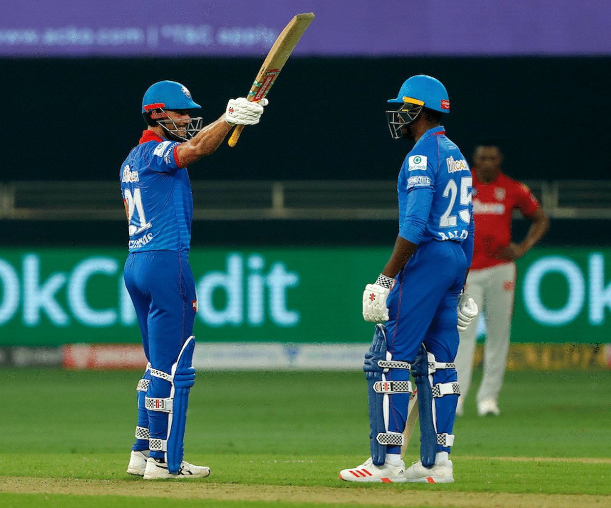 Marcus Stoinis scored a century against Kings XI Punjab.