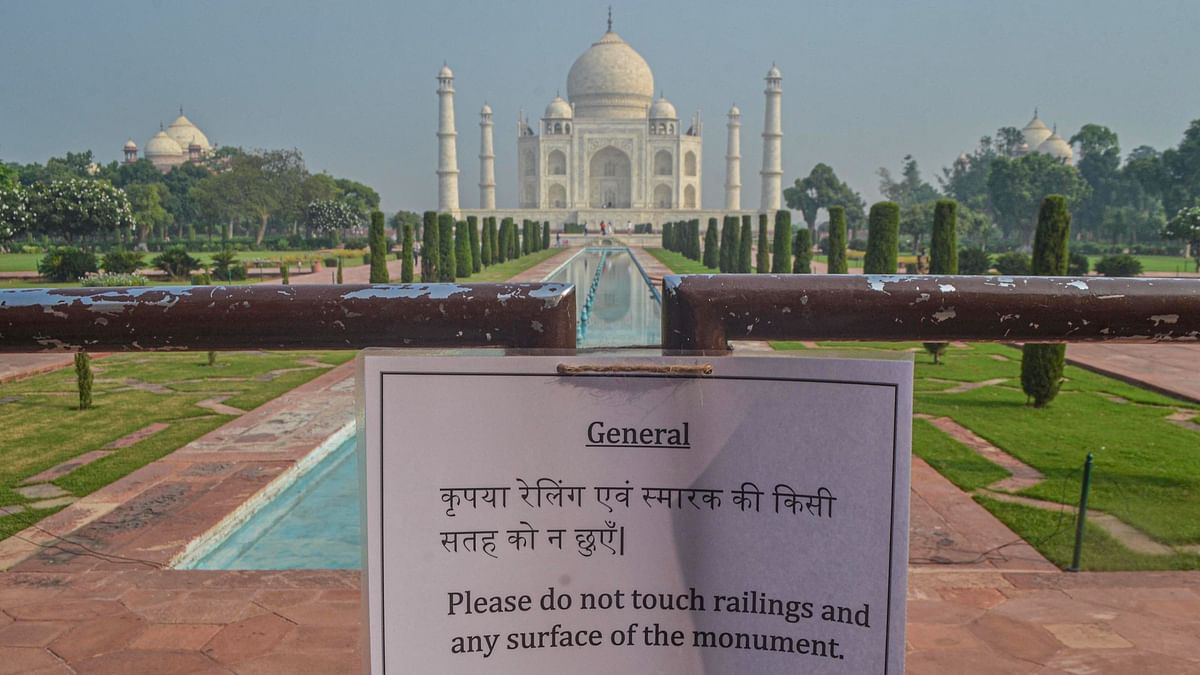 First  Tourist at Taj Mahal Post COVID-19 Lockdown is From Taiwan