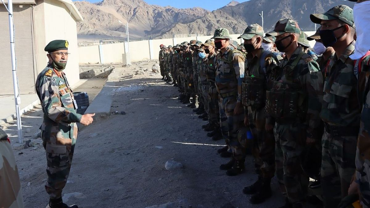 Indian Army Chief General MM Naravane Concludes Visit to Ladakh