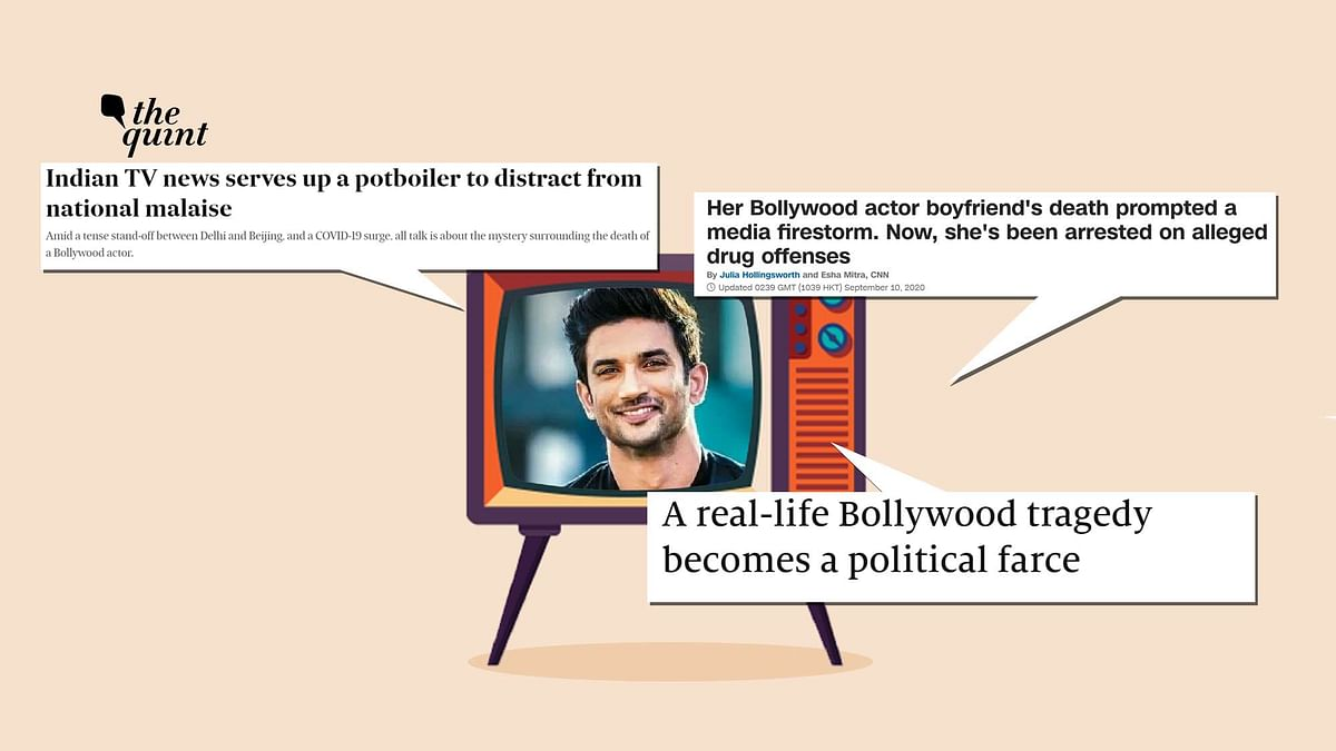 The international media too took note of actor Sushant Singh Rajput's death and reported on it in June.
