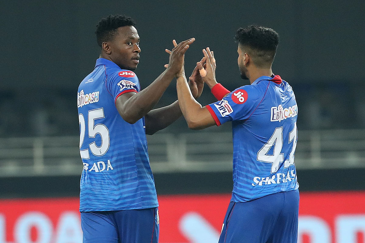 Bowling first in the Super Over, Delhi's South African pacer Kagiso Rabada kept his cool to snare two wickets and concede just a couple of runs.