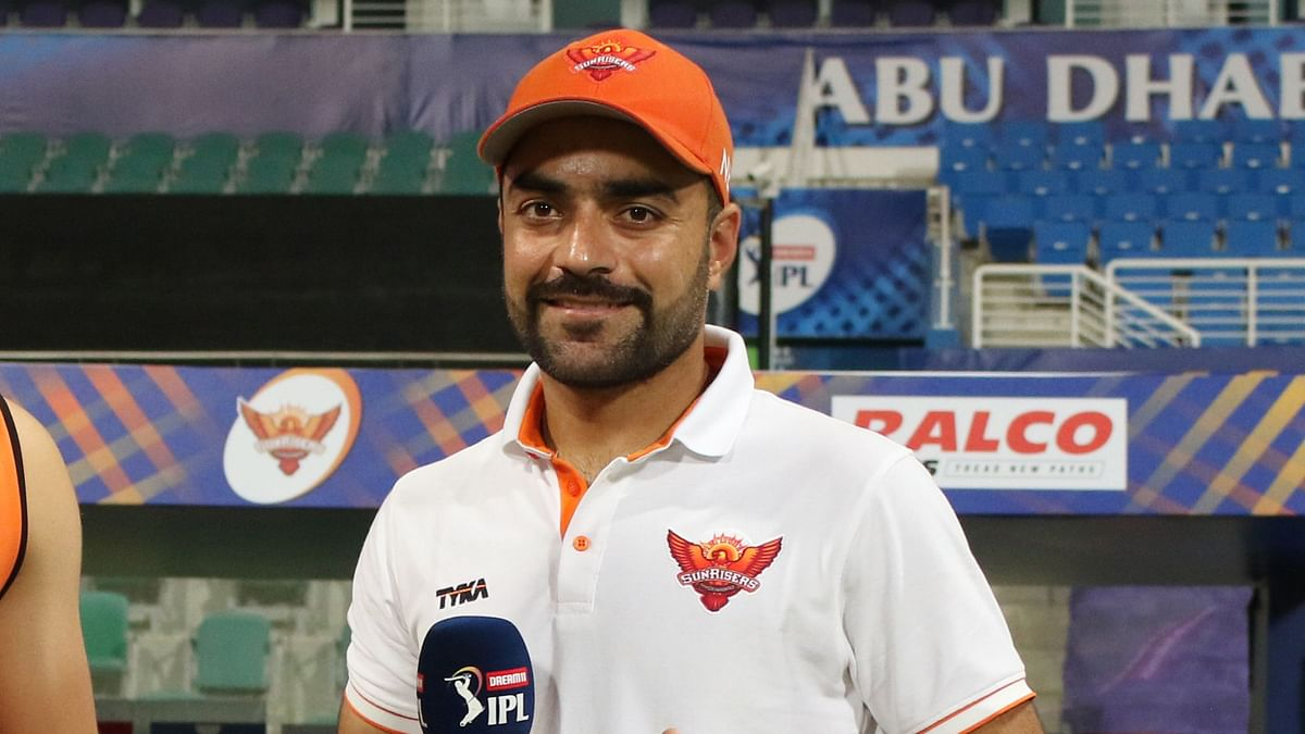 Rashid Khan picked 3 wickets conceding just 14 runs in the match against Delhi Capitals.