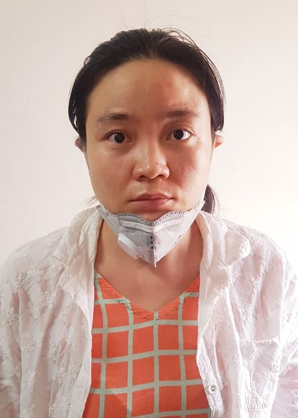 Arrested Chinese national Qing Shi.
