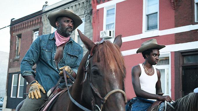 Idris Elba in 'Concrete Cowboy'.