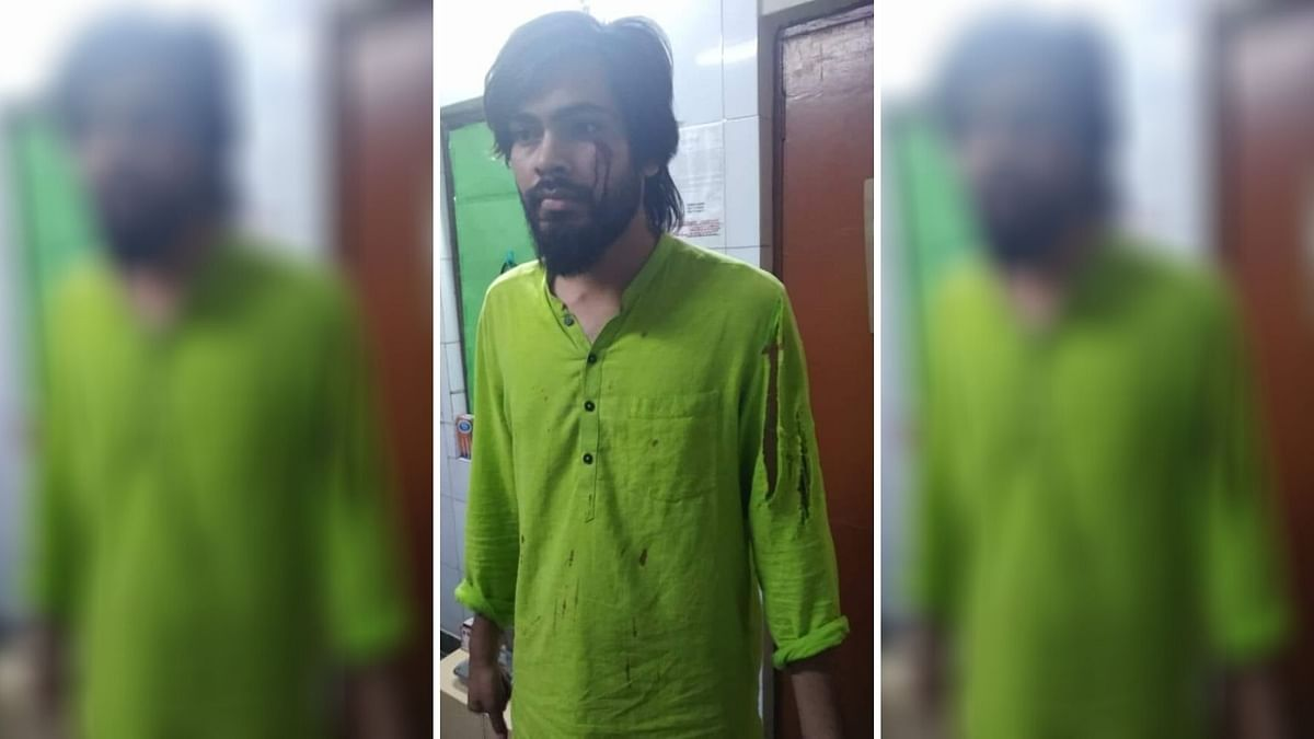 """Vivek Pandey, a member of All India Students' Association (AISA), has alleged that members of the ABVP beat him in his hostel """"without provocation""""."""