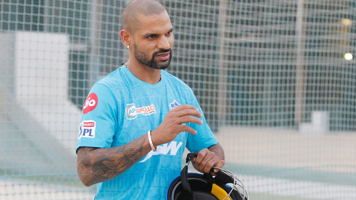IPL 2020: Dhawan Misses His Chance to Equal Raina's Record