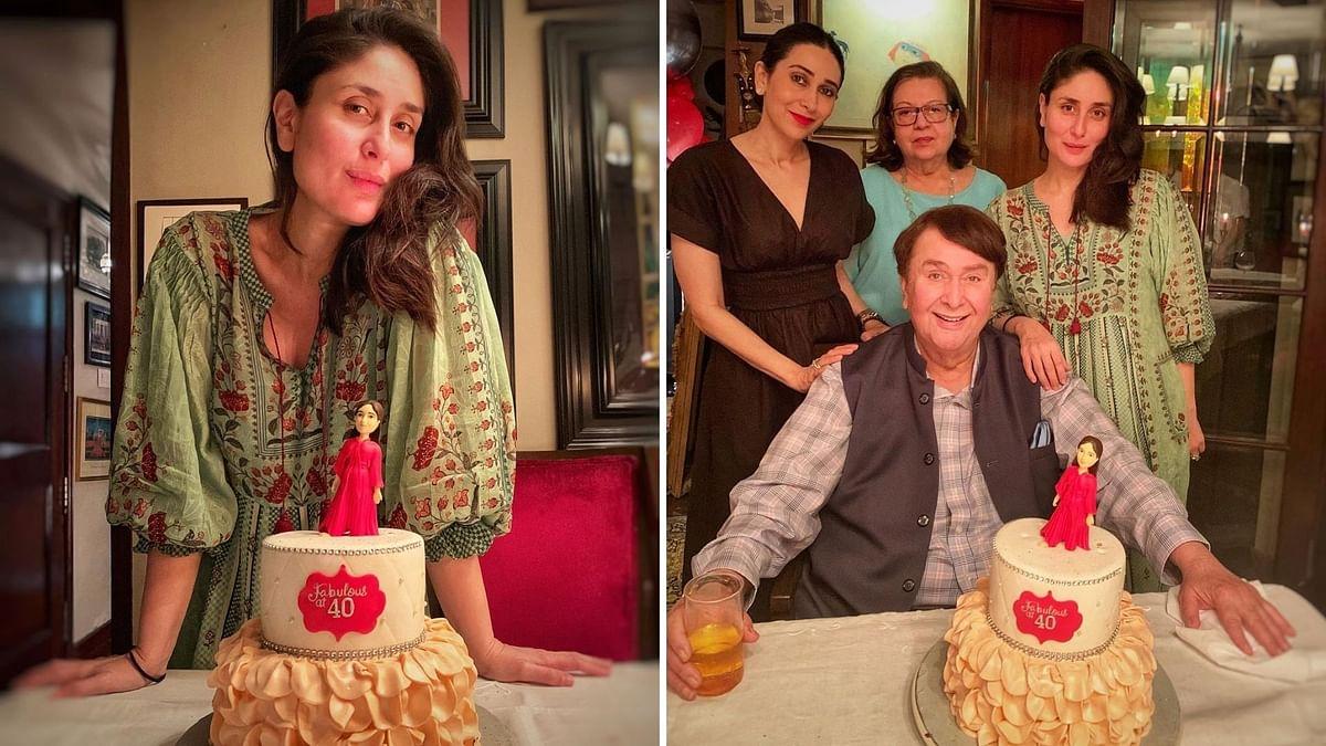 Kareena Kapoor celebrates her 40th birthday.