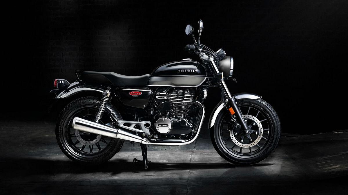 The new Honda CB350.