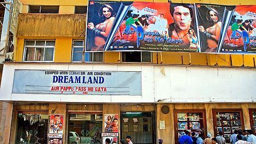 Dreamland theatre in Mumbai.