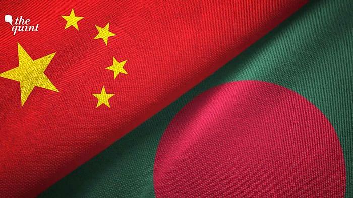Image of China and Bangladesh flags used for representational purposes.