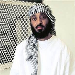 Ramzi bin al-Shibh, photographed at Guantanamo Bay.