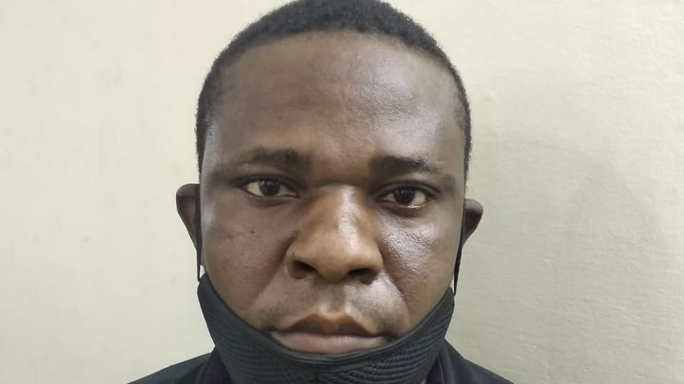 Loum Pepper Samba, an African national accused of supplying drugs.