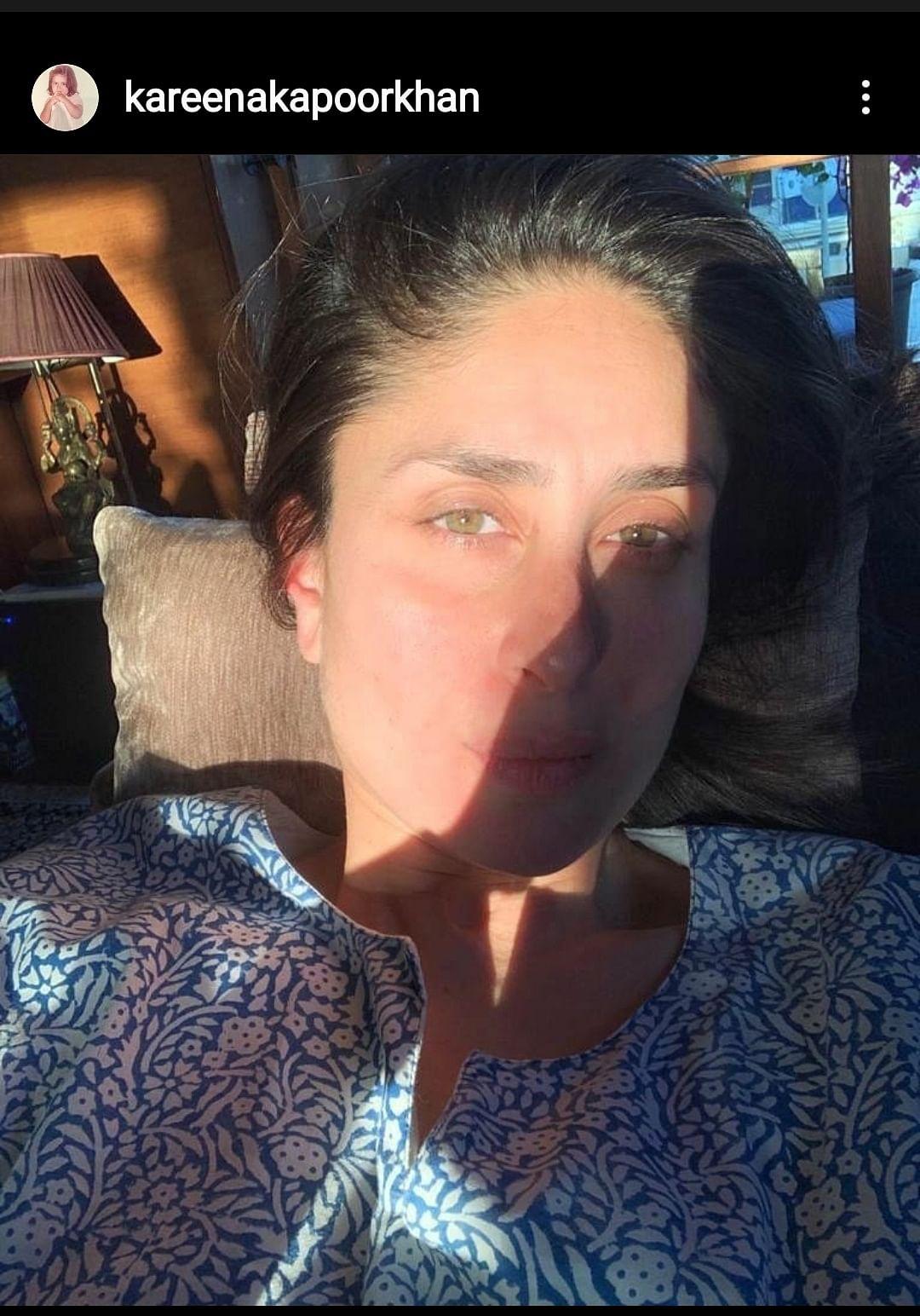 """Girls just wanna have sun 🌞"" - Kareena Kapoor Khan"