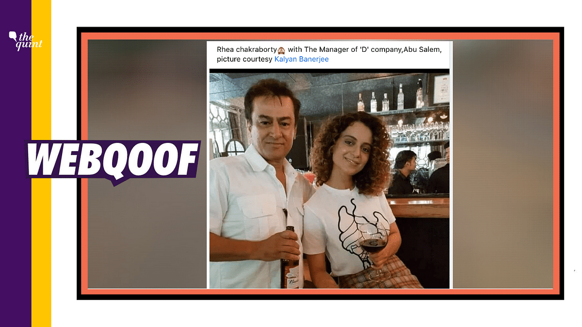 No, That's Not Abu Salem With Kangana Ranaut, It's Mark Manuel!
