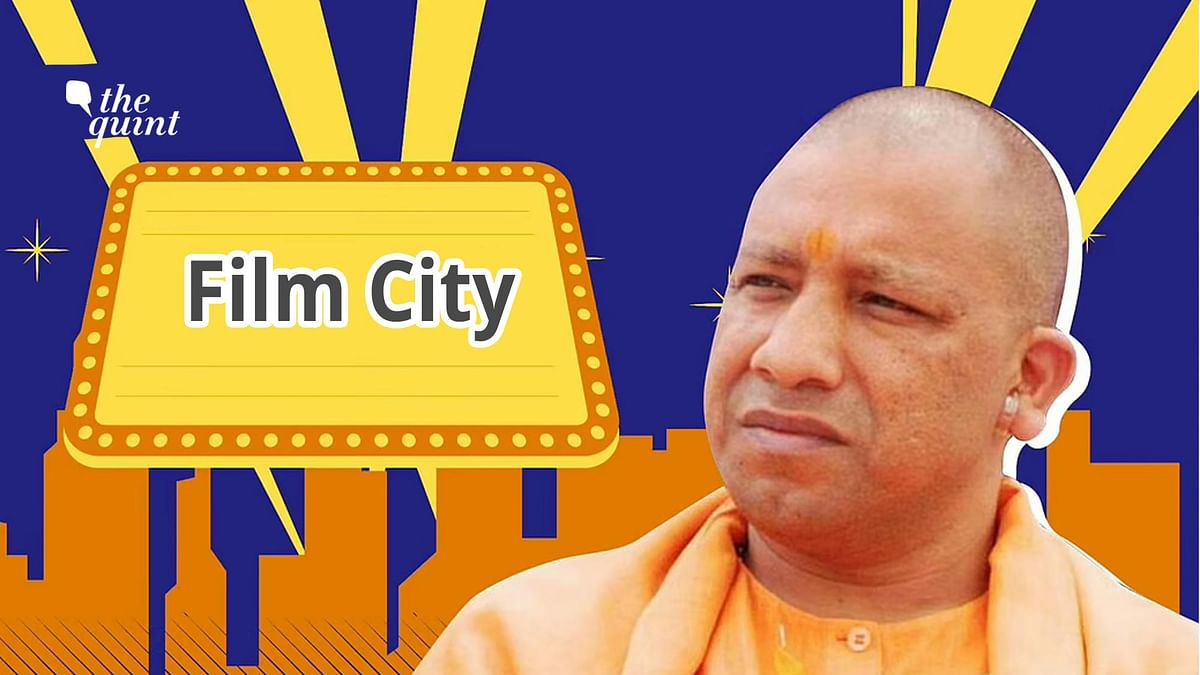 CM Yogi Adityanath, himself, seems very actively involved in setting up a Film City in UP.