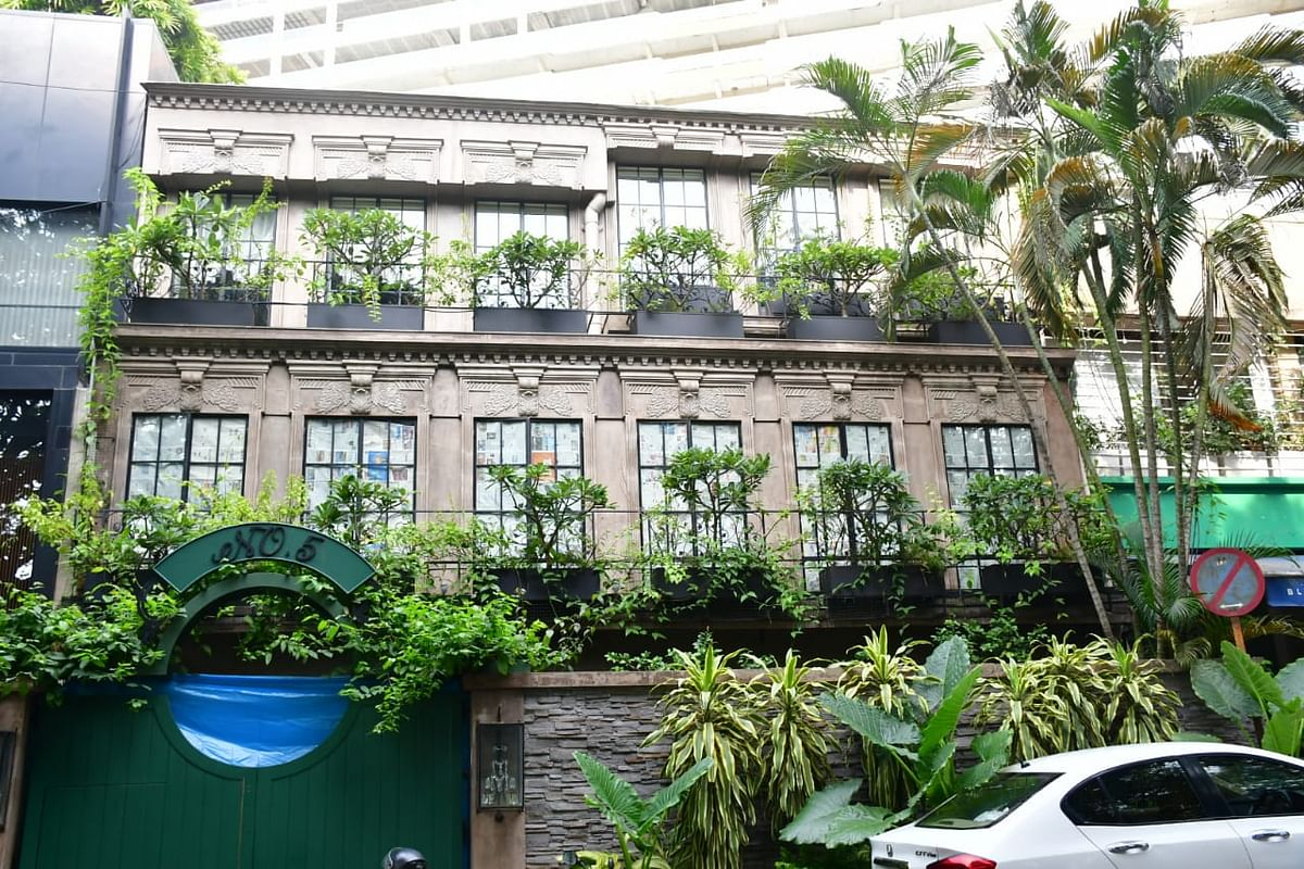 Kangana Ranaut's office and residence in Bandra West.