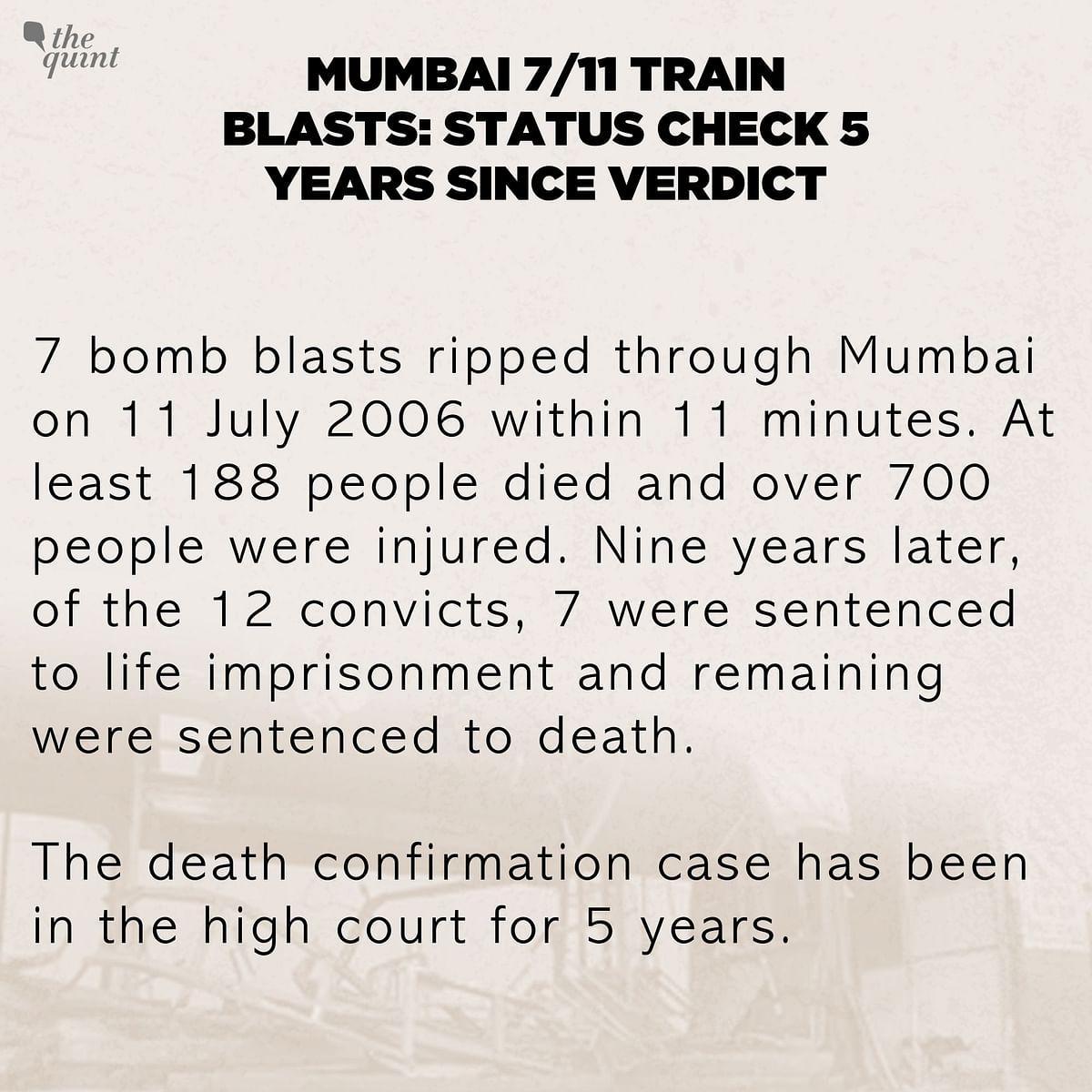 Mumbai 7/11 Train Blasts: Status Check, Five Years After Verdict