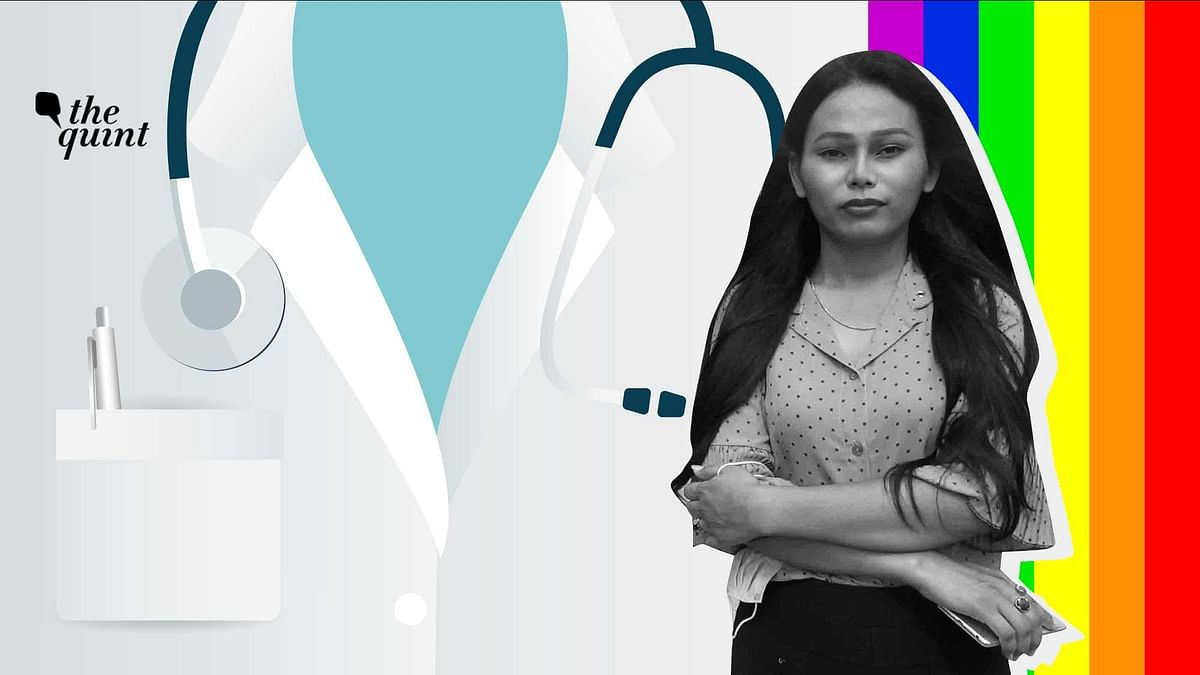 Dr Beoncy Laishram from Manipur is northeast India's first transgender doctor.