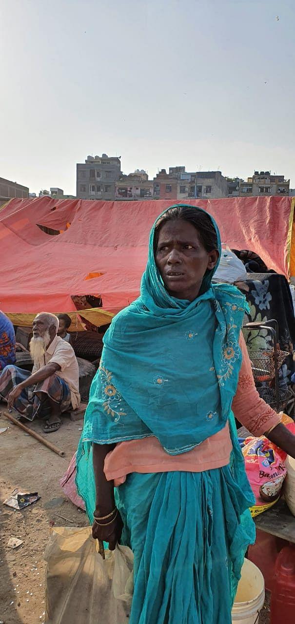 Amid rising coronavirus cases, slum dwellers wonder where they will go.