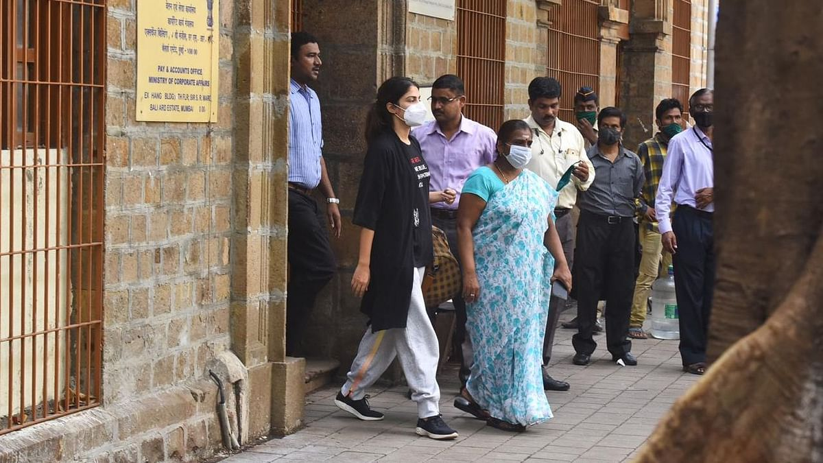 A Mumbai court had rejected Chakraborty's bail plea and remanded her in judicial custody till 22 September.