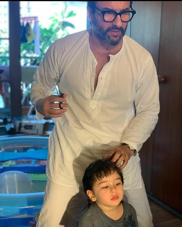 """Haircut anyone? 💁🏻♀️🤭"" - Kareena Kapoor Khan"