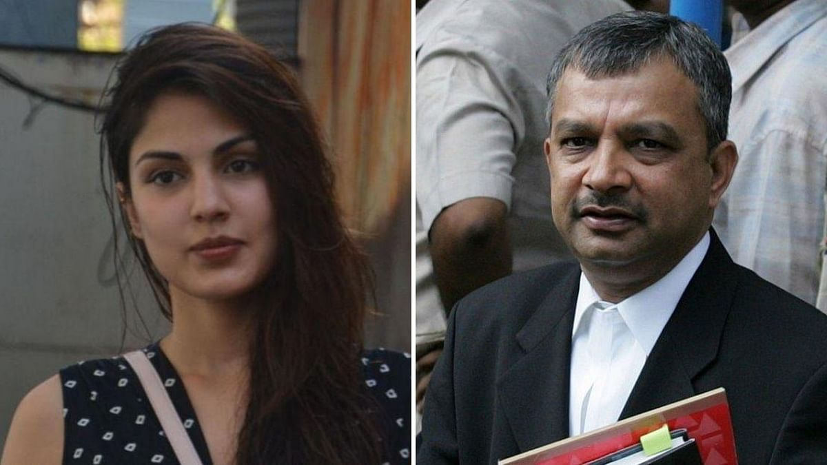 Rhea Chakraborty's lawyer Satish Maneshinde issues a statement.