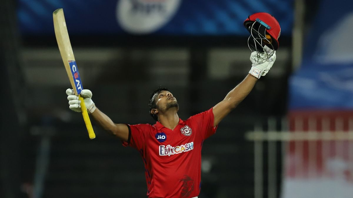 Mayank's Century, Rahul's Fifty Guide KXIP to 223/2 vs Rajasthan