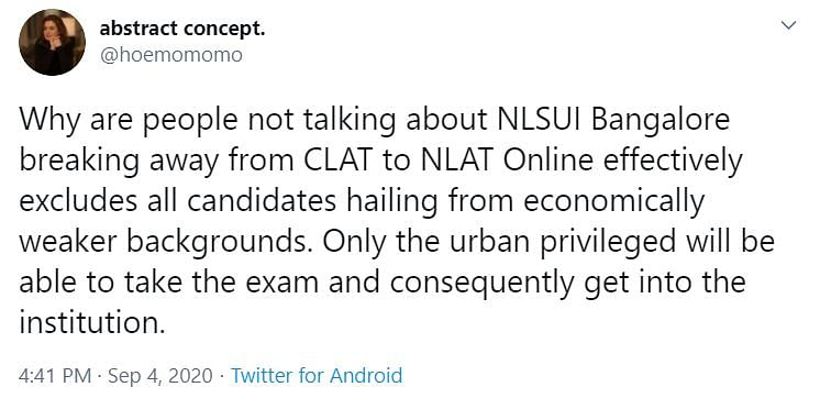 Heavens Won't Fall in 15 Days: NLSIU Criticised for Dropping CLAT