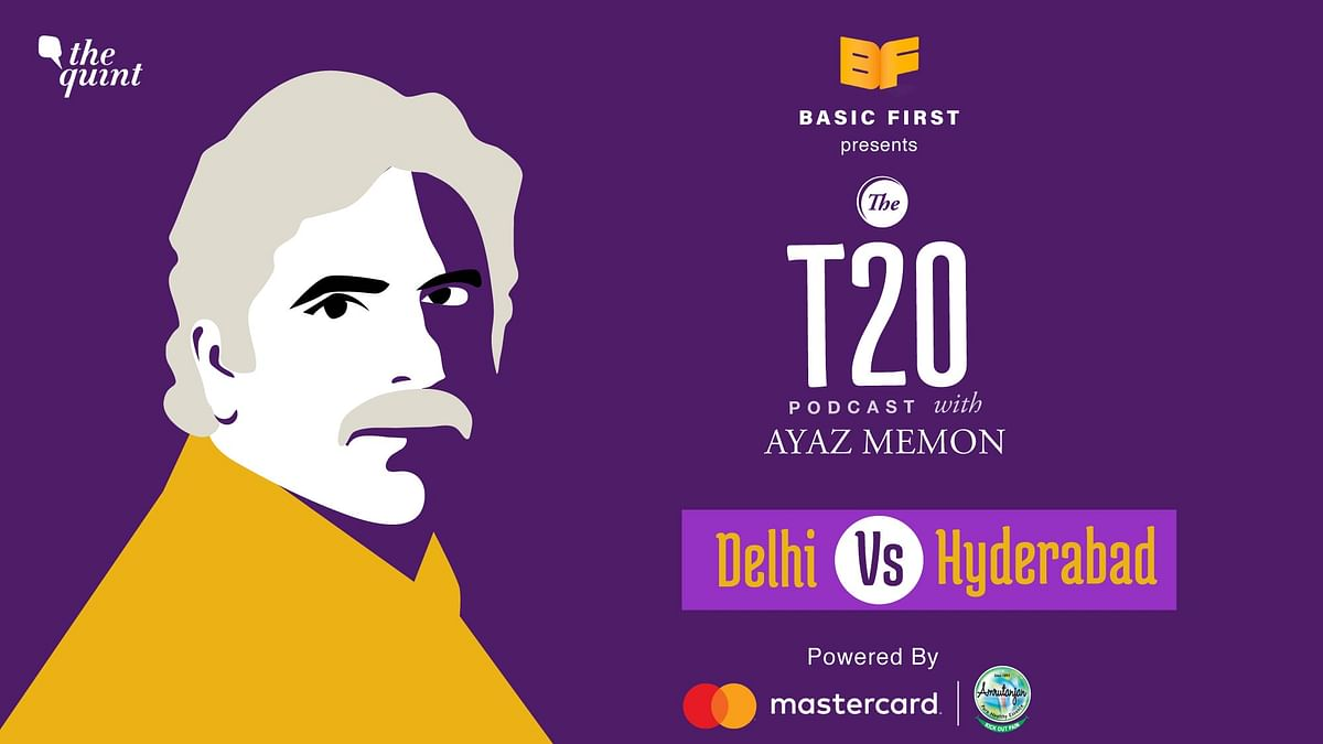 On episode 11 of The T20 Podcast, Ajaz Memon and I talk about Hyderabad's 15-run victory over Delhi.