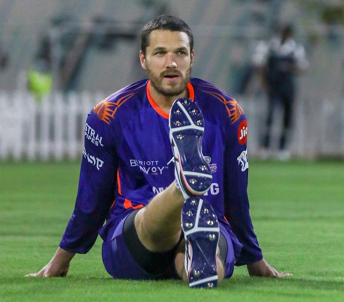 Nathan Coulter-Nile also packs a punch as a lower order batsman, striking the ball in the mid-130s.