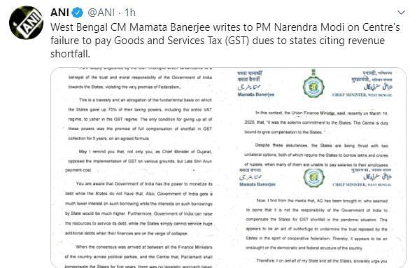 GST Compensation: Kerala CM Writes to PM Modi, Seeks Intervention
