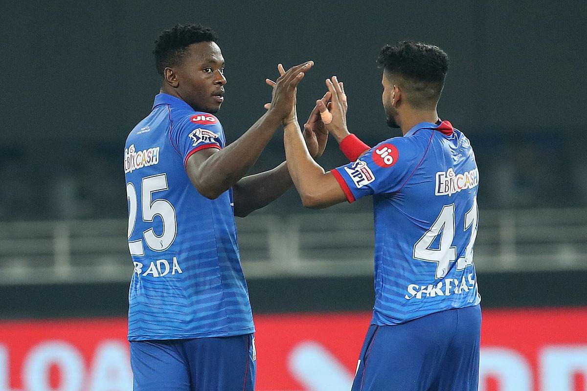 Delhi Capitals' Kagiso Rabada leaked just two runs in the Super Over.