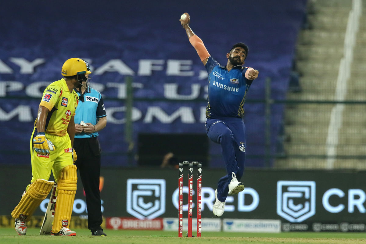Jasprit Bumrah of Mumbai Indians, bowled the first no-ball of the tournament after the third umpire called him back