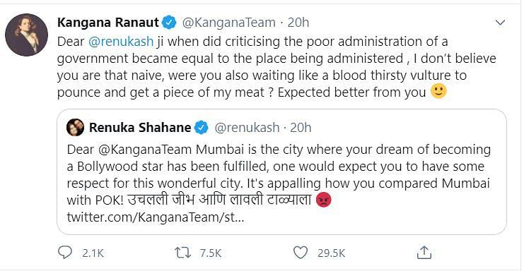 'Kill Me Then,' Kangana Ranaut Tells Sanjay Raut, Gets Y+ Security