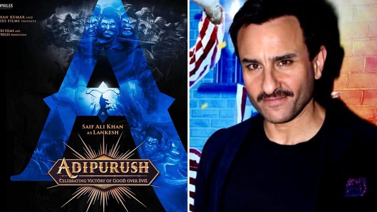 Saif Ali Khan to play the antagonist in 'Adipurush', starring Prabhas.