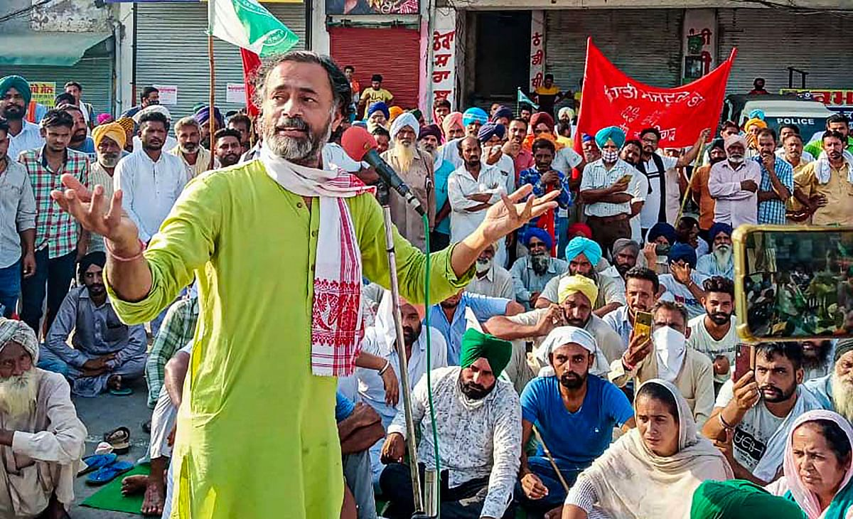 Farmers' Protests: Yogendra Yadav Detained for 'Breach of Peace'