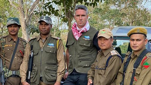 Watch video: Kevin Pietersen talks about the need for wildlife conservation.