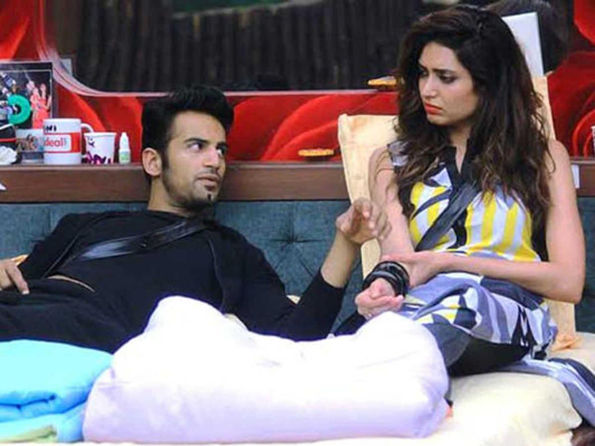 Karishma Tanna and Upen Patel.