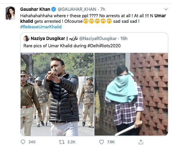 #StandWithUmar: Solidarity Pours in for Khalid Post His Arrest