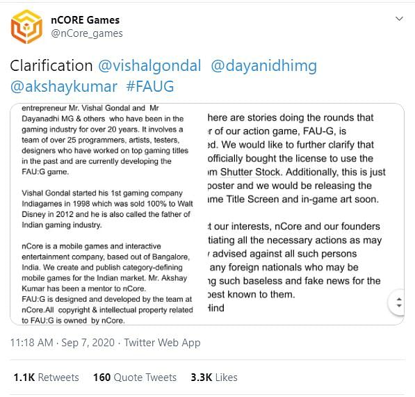 'We Are Not PUBG': FAU:G Creator on Being the Indian Alternative