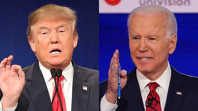 Donald Trump and Joe Biden.