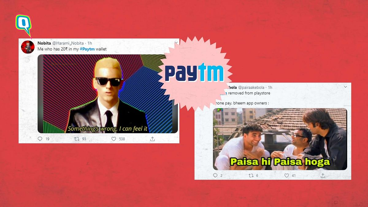 Google Play Store removes Paytm.