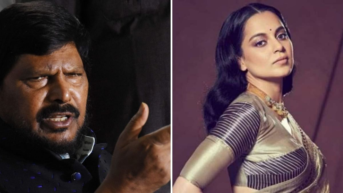 Athawale Meets Maha Gov; Seeks Compensation, 'Justice' For Kangana